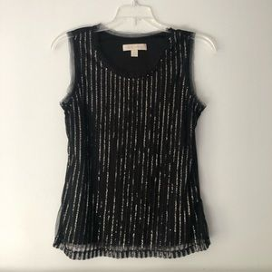 Laura Ashley Sequined Top